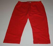 NEW Hanna Andersson Girls Red Capri Leggings 140 CM  10 Year NWT Girl