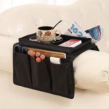 1pcs Sofa Storage Caddy Organiser Arm Rest Remote Holder Couch 6 Pocket Tray