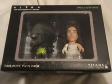 TITAN FIGURES ALIEN NOSTROMO COLLECTION NERDBLOCK EXCLUSIVE RIPLEY BIG CHAP XENO