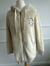 NEW NEO ADIDAS FAUX FUR TEDDY HOODY JACKET SIZE SMALL