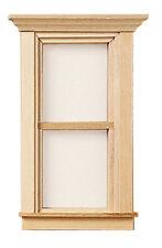 Casa de Muñecas Miniatura Tradicional No-Funcional Ventana (#5051) - 1:12 Escala