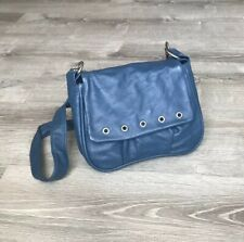 Blue Crossbody Bag, Small Leather Purse, Women Handbags, Handmade Bags Suri