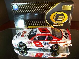 Dale Earnhardt Jr #8 Budweiser MLB All-Star Autographed Clean 2001 Chevy Elite
