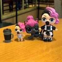 LOT 3X LOL Surprise Dolls LiL Sisters L.O.L. ROCKER & PET & LIL SERIES 1 2 TOYS