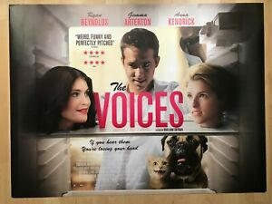 The Voices, Original UK Quad Sheet Movie Poster