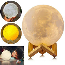 8-20CM Dimmable 3D Magical Moon Lamp Night Light LED Moonlight Table Home Decor