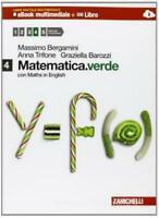 MATEMATICA.VERDE +MATHS 4, Bergamini/Trifone ZANICHELLI, cod.9788808200020