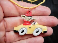 Authentic Vintage 1950's Perfect For Your Next ROAD TRIP Mouse in a Car