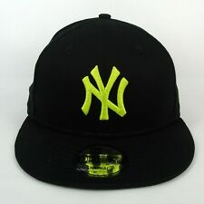 New Era Cap Men's MLB NY Yankees Team Logo Pop Lime 950 Snapback Hat - S/M
