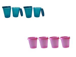 Tupperware® Mini Conteneurs * Midgets Set of 4 * Mini Containers * 4 Mignonettes