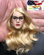 "1/6 female metal eye glasses B catwoman 12"" figure hot toys phicen Poptoys ❶USA❶"