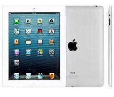 Apple iPad 4th Gen. 64GB, Wi-Fi + Cellular (Unlocked), 9.7in - White