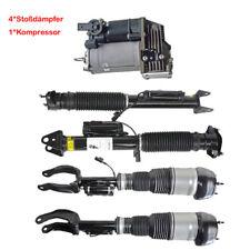 4*Stoßdämpfer + Luftfederung Kompressor Für Mercedes M GL W166 2*vorne 2*Hinten