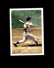 2007 Topps Story #MMS69 Mickey Mantle Yankees (C)
