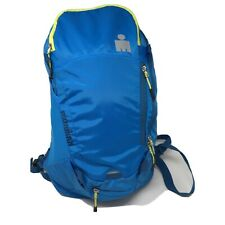 Ironman Triathlon Blue Backpack Daypack with Rain Cover