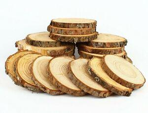 LÄRCHE Restposten Holzscheiben Astscheiben Baumscheiben Floristik 20 St 10-16 cm