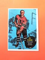 Reg Fleming 1961-62 Topps #26  Vintage Hockey Card