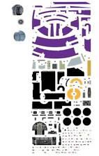 purple bandai solo star wars 1/144 lando millennium falcon waterslide decals