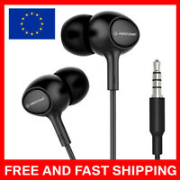 HD Clear Super Bass Stereo Ergonomic In-ear Earphones 3.5mm Jack Wired Headphone