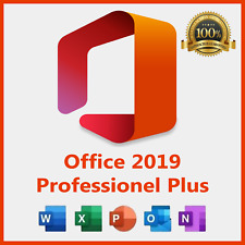Microsoft Office Professional Plus 2019 32/64-bit Licencia para 1 Dispositivo