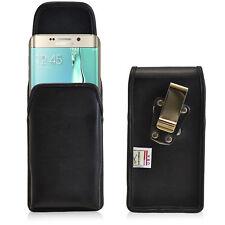 New Galaxy S6 Edge Plus Belt Case Turtleback Vertical Leather Holster Belt Clip