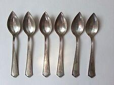 6 Sterling Silver OrangeGrapefruit Spoons