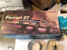 Vintage Radio Shack rc Ferrari Testarossa 27 Cat #60-4062