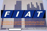 FIAT Croma Typ 154 CHT 3.A. 1989 original Ersatzteil Katalog ETK Microfiche