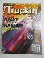 TRUCKIN MAGAZINE NOVEMBER 1998 CHEVY HEAVY HAULERS EXTREME CREW CABS & PHANTOMS