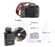 Canon EOS 7D DSLR Camera Body Only + 1080p HD Video - Boxed -