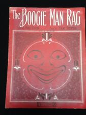 Vintage 1912 The Boogie Man Rag Man In Moon Face Mort Hyman Starmer Sheet Music