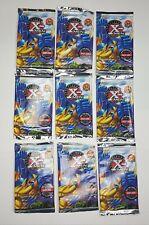 9 PACKS X-MEN Xmen Marvel 1995 Fleer foil packs trading cards Canadian version