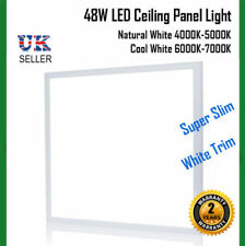 48W 600x600mm LED Ceiling Grid Recessed Panel Light Natural White / Cool White