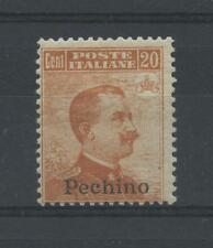OCCUPAZIONI PECHINO 1917/8 20C. N.12 *