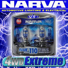 NARVA HB4 BLUE PLUS 110 HALOGEN HEADLAMP LIGHT BULBS GLOBES 48534BL2 HEADLIGHTS