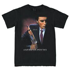 New American Psycho Movie 2000 Vintage Retro Black Unisex T-Shirt