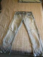 Mens BANANA REPUBLIC Vintage Straight Light Wash Blue Jeans Size 33/32.