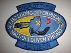 US Navy COSFLOT 3 ADVISOR Coastal Protection Vietnam War Patch