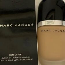Marc Jacobs Genius Gel Super Charged Foundation in 82 Cocoa Light 1.0 oz. SEALED