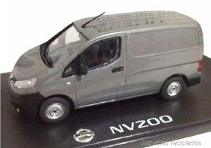 Nissan NV200 1:43 NOREV Gray dealer VAN