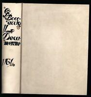 Giovanni Boccaccio: II Decameron (1761). Faksimile der Ausgabe 1384/ 1527.