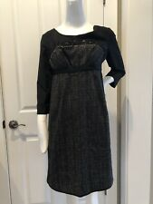Professional Chic Philosophy di Alberta Ferretti Women's Dress Black Size 6