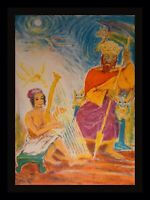 Ira Moskowitz Song of Songs Neptune Hand Signed Numbered  Judaica ART