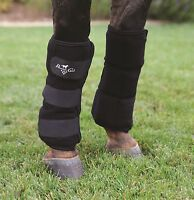 Professional's Choice Ice Boots w/frozen gel pockets Prof Pro Therapeutic horse