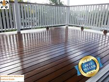 SPOTTED GUM 86x19mm DECKING $2.20 - BULK BUY DISCOUNT