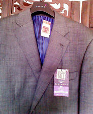 M&S Sartorial Regular Fit Big&Tall Men's Suit Jacket XLong Grey Chest 107cm/42in