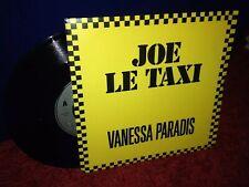 "Vanessa Paradis - Joe le taxi 7"" Vinyl record / 80s"