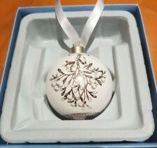 Wedgewood Christmas decoration Mistletoe Bauble Xmas