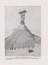 Petrified-Forest-Nationalpark Arizona DRUCK von 1912 Adlerkopf National Park