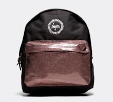 Hype Metallic Polka Dot Backpack Pink Black BRAND NEW